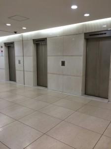 新大阪センタービル エレベータ