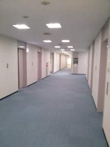 東洋紡ビル エレベーターホール